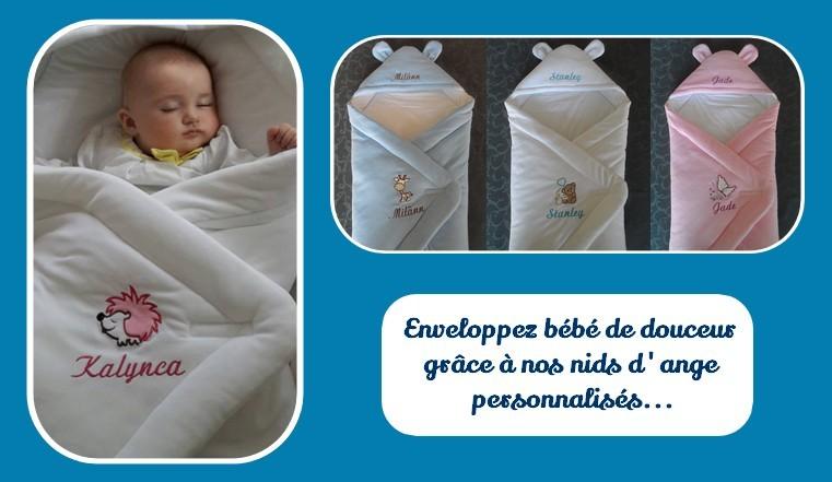 couverture polaire bébé personnalisée Articles brodés et personnalisés   MA PETITE COUVERTURE PERSO couverture polaire bébé personnalisée