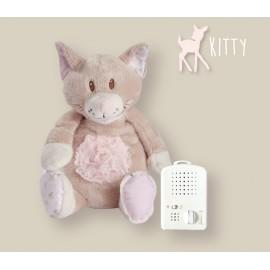 Peluche Kitty - bruit blanc - 25cm
