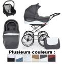 Poussette 4en1 Romantic Ecocuir